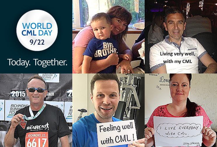 CML Support Group World CML Day 2015 Graphic