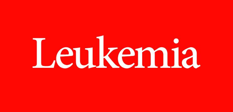 Leukaemia magazine logo