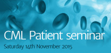 Promotional graphic for the 2015 Patient Seminar event
